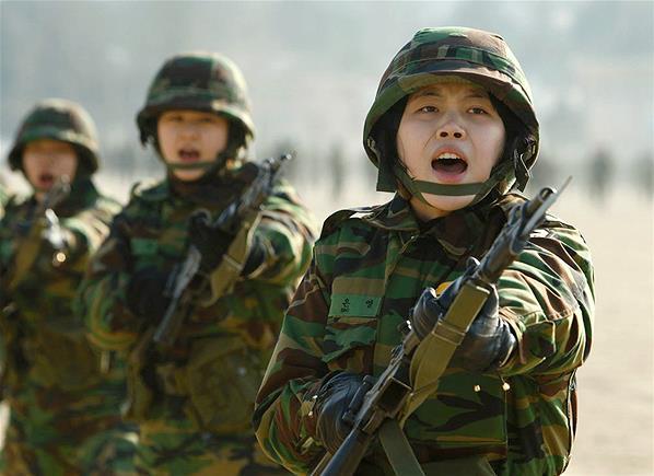 Prajurit-Prajurit Cantik Korea Di Medan Peperangan