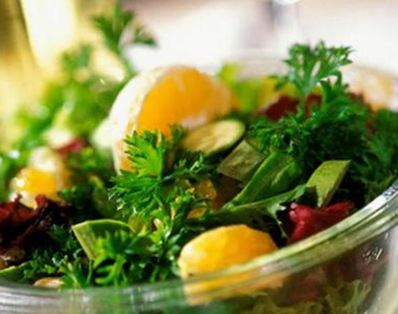 Salada de erva-doce e laranja light