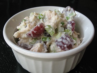 Chicken Salad With Grapes And Walnuts So i love chicken salad and
