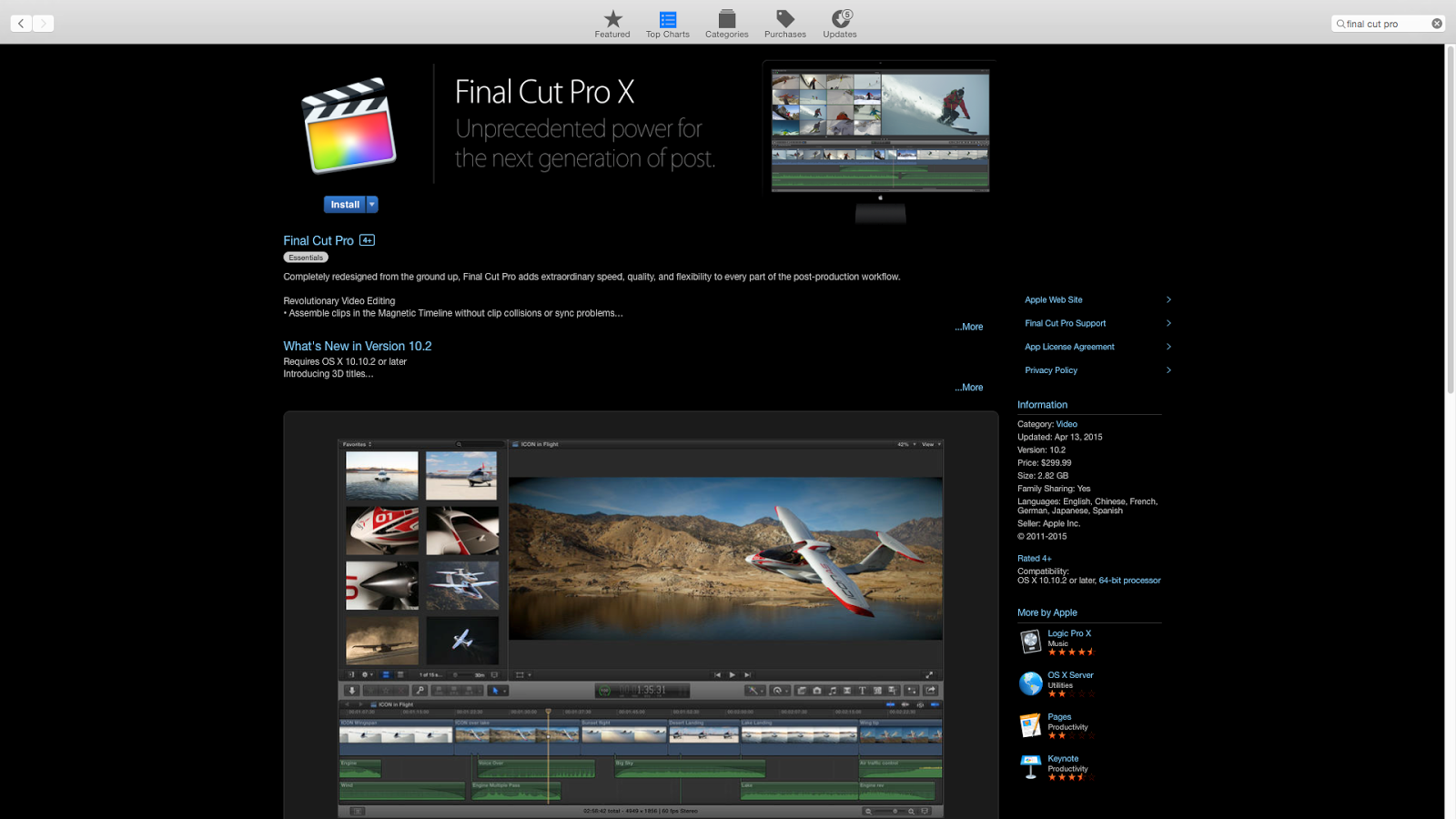 Apple final cut pro x 10 3 4 final cracked full for 10 x 10 x 10