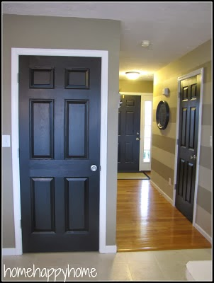 at home happy home the doors all got the royal treatment. Black Bedroom Furniture Sets. Home Design Ideas