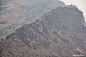 Top view of the cliff we crossed in trekking