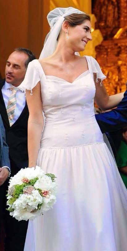 vestido de novia de lourdes montes | el blog de malules
