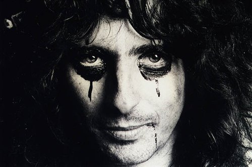 alice cooper old black and white