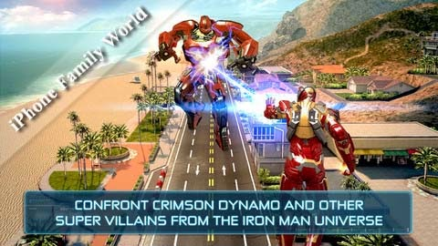 Iron Man 3 – The Official Game 1.0.2 - iphone family world | iphone ...