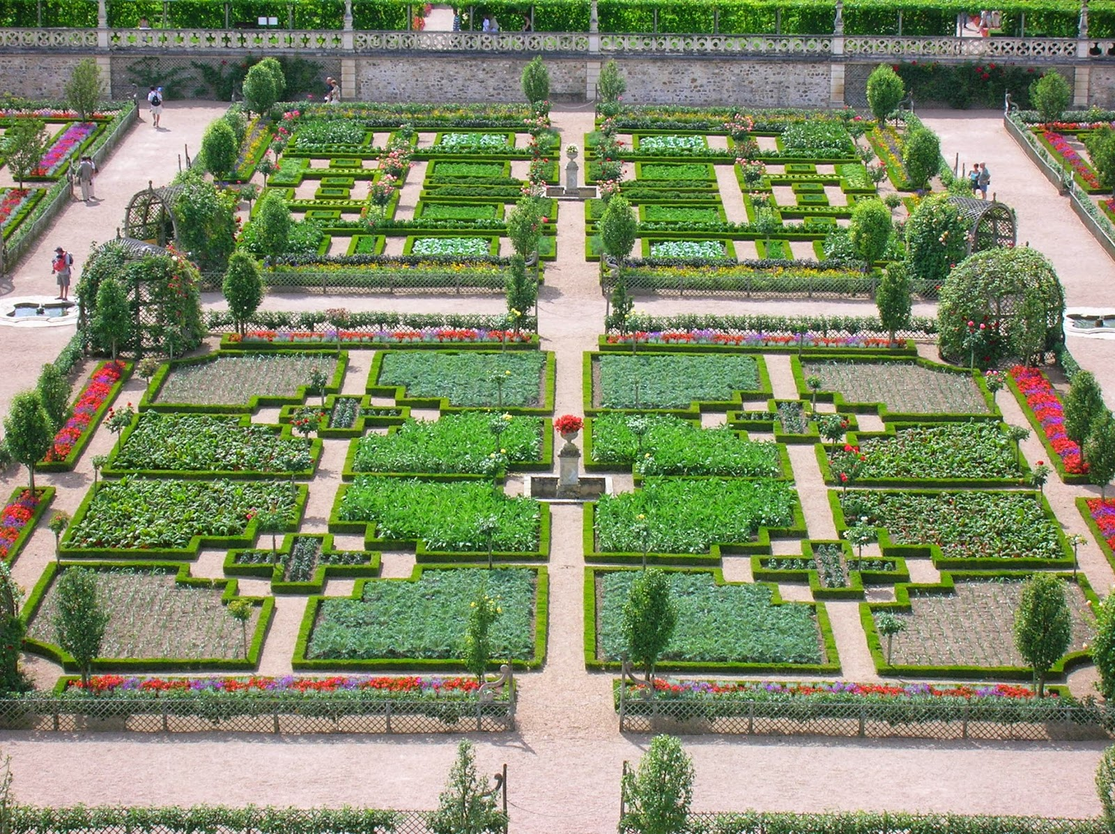 Centro ricerca piante officinali veneto giardini storici Le jardin francais