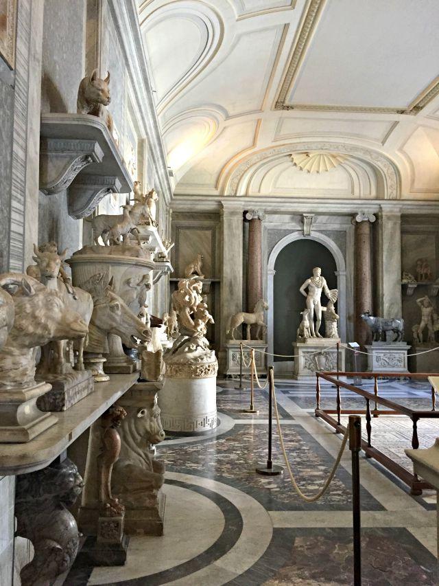 Ein Blick ins Vatikanische Museum - in Rom mit Kindern unterwegs. Frühstück bei Emma