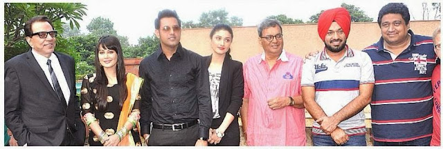 Gippy Grewal, Dharmendra, Subhash Ghai