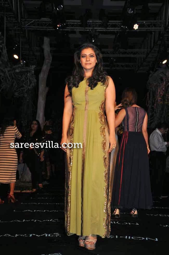 Kajol at Lakme Fashion Week Summer 2014