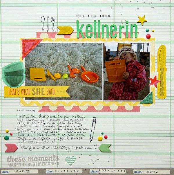 Viel-Foto Layout von Tanja Bargsten für www.danipeuss.de