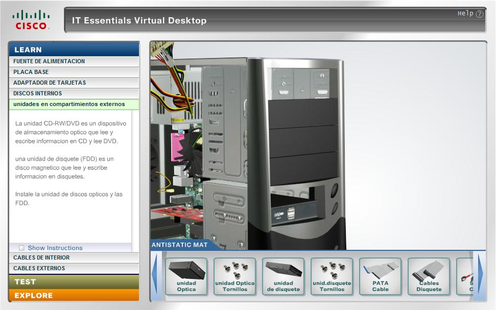 Aprende a armar una pc desde un simulador 3d taringa for Simulador de cocinas 3d