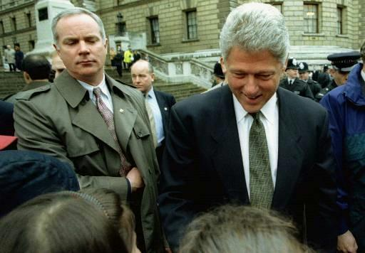 Secret Service Agent & President Clinton