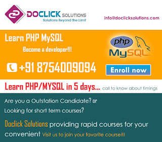 PHP/MYSQL training in coimbatore