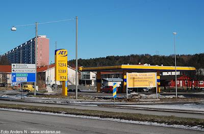 macken, bensinmack, mack, kviberg, göteborg, jet, 2011, foto anders n