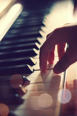 Life is like playing a piano....