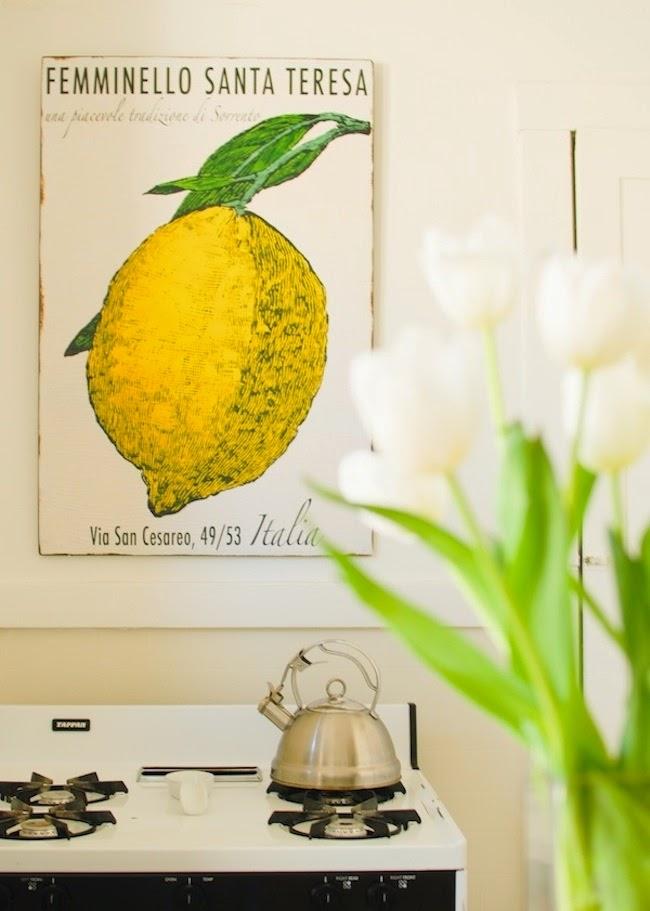 Simple details kitchen artwork for Kitchen art ideas