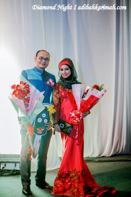 HASBI HARUN AND ADIBAH KARIMAH WITH FLOWERS