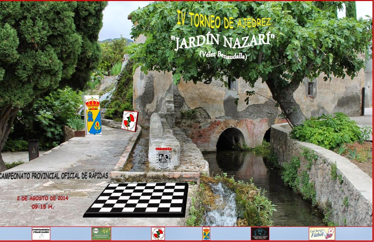 Ajedrez motril iv torneo de ajedrez jard n nazar que for Ajedrea de jardin