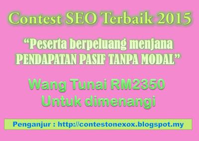 contest SEO onexox