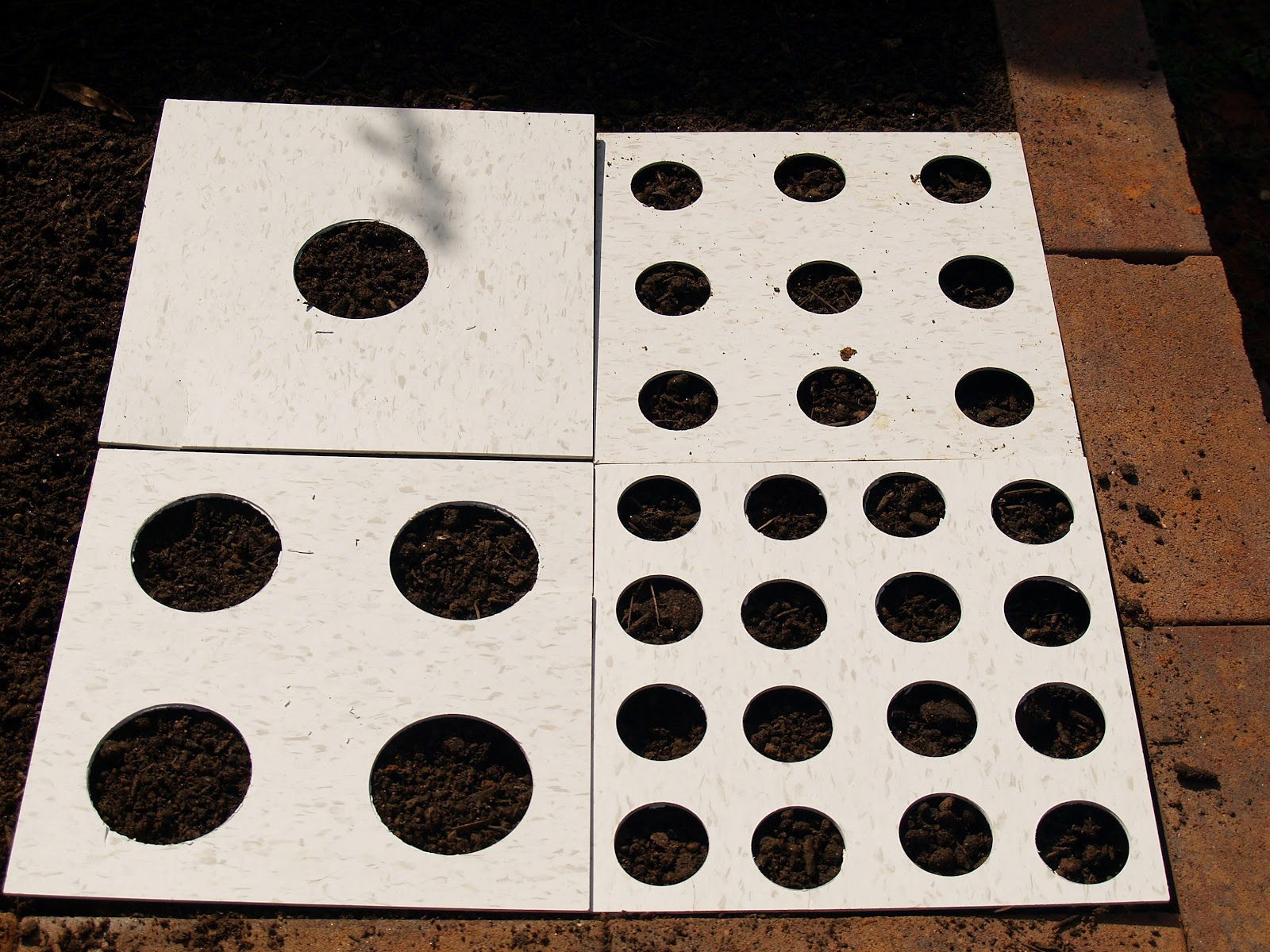 Budding And Blooming Project Planting Templates