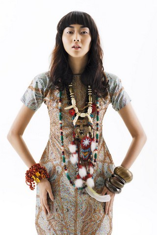 Asian Fashion And Style Clothes In 2012 Malaysian Fashion 2012