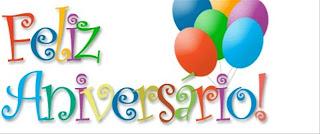 """""""Parabéns"""" Feliz-aniversario"""