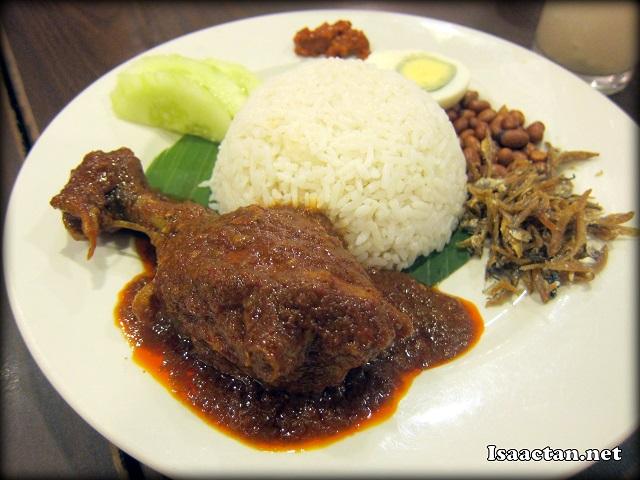 #5 Chicken Nasi Lemak - RM11.30