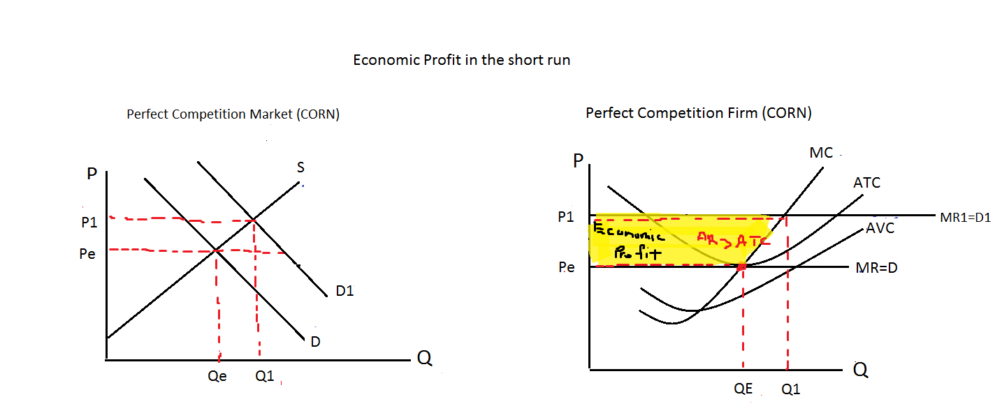 production and perfect competition Given the output produced, the costs of production (recourses used) are  minimized  evaluating the efficiency of perfectly competitive and monopoly  markets.