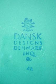 """1959-1965 Dansk """"4 Ducks"""" logo"""