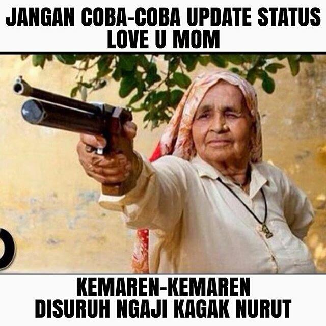 Meme Lucu Hari ibu -