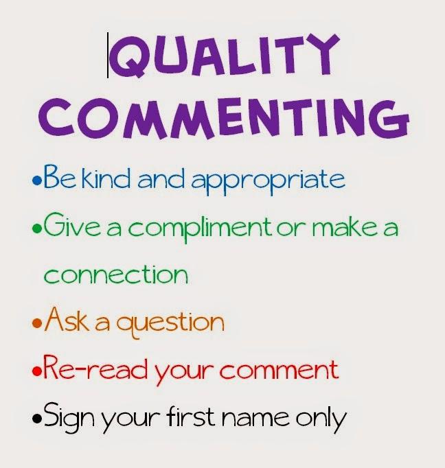 Student Blog Comment Criteria