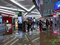план аэропорта Дубаи