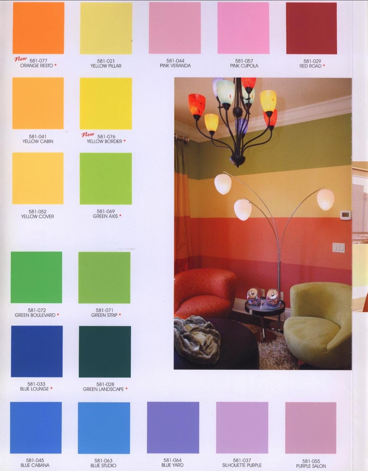 Avitex Katalog Warna | Ask Home Design