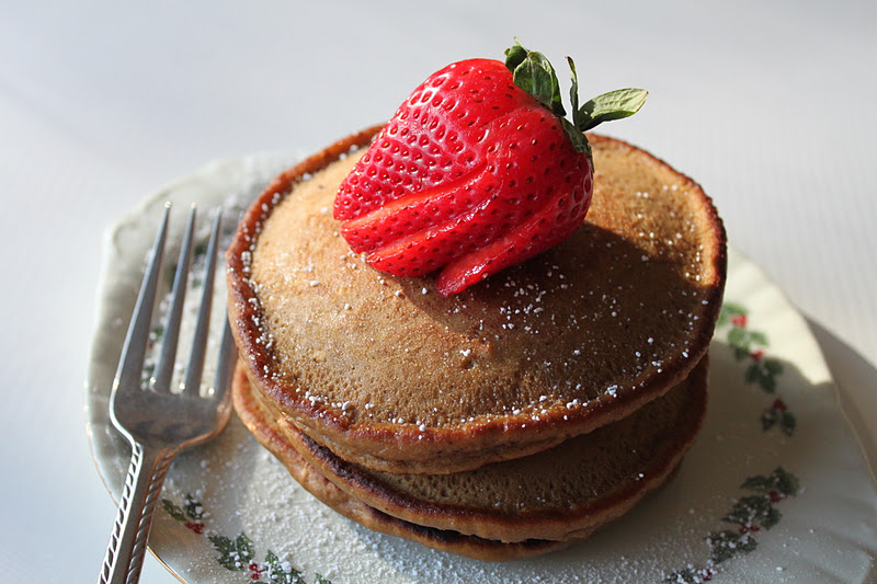 Gingerbread Pancakes | Meatless Meals for Meat Eaters