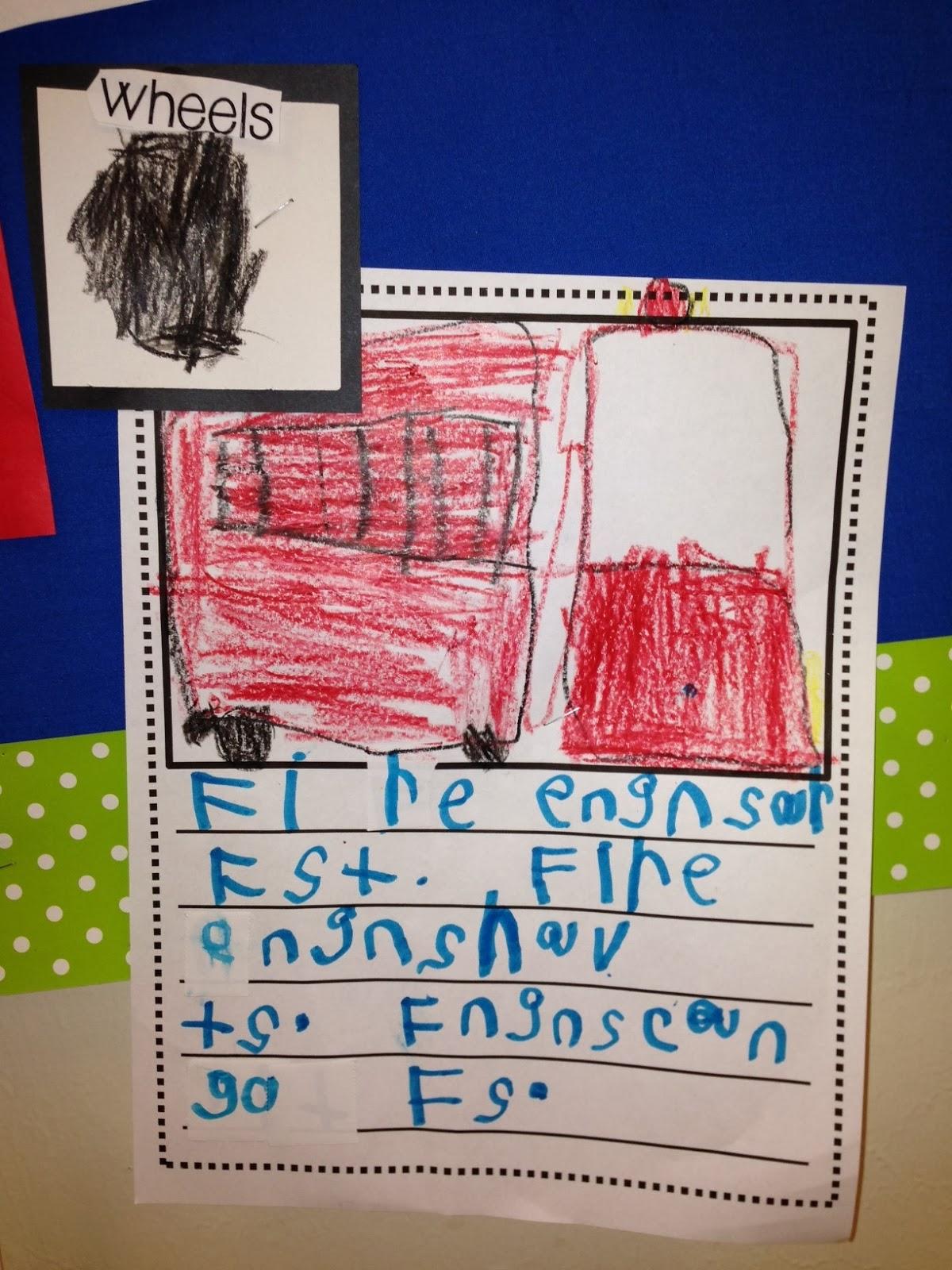 Chalk Talk: A Kindergarten Blog: Labeling and Close-Ups