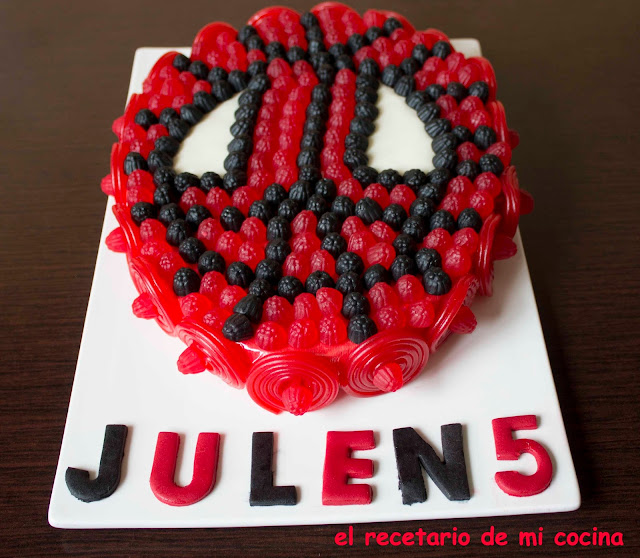 tarta de spiderman