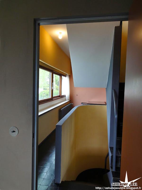 """Stuttgart - Cité de la Weissenhof - Maison """"Citrohan"""" et maison double ou maison jumelle  Architectes: Le Corbusier, Pierre Jeanneret  Construction: 1927"""