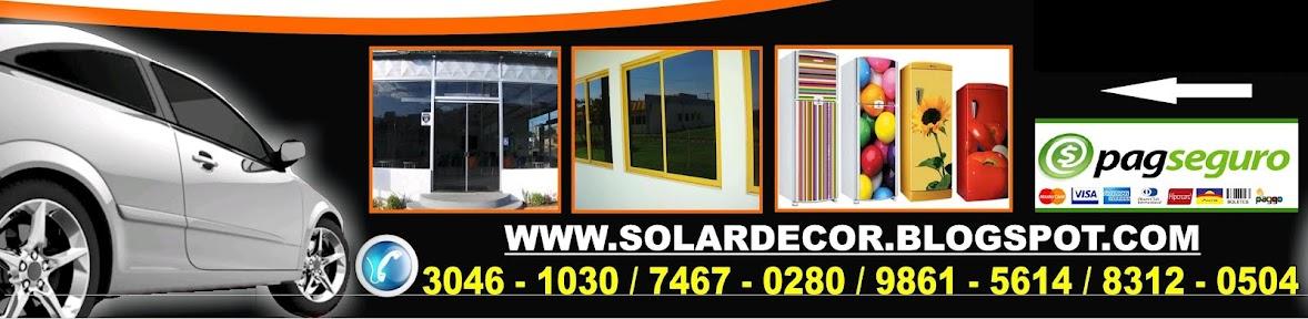 Solardecor -Envelopamento e insulfilm