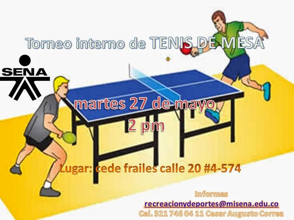 Bienestar aprendices centro atenci n sector agropecuario regional risaralda torneo interno - Torneo tenis de mesa ...