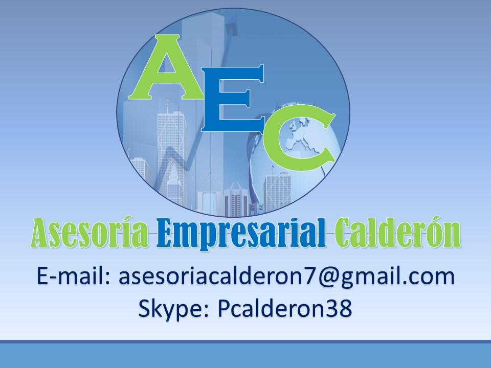 Asesoría Empresarial Calderón