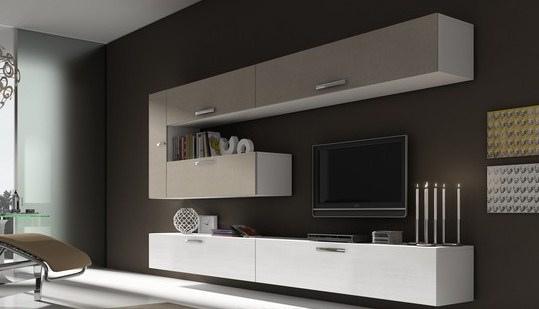 Viejitos piolas muebles living rack tv for Muebles modernos para living