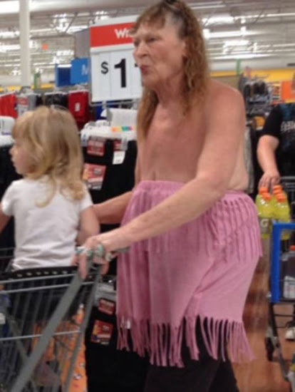 An+extremely+fashionable+granny+at+walmart