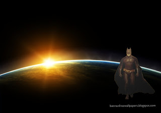 Wallpapers of Batman Posters and Desktop Wallpapers of The Dark Knight Walking with Cape in Space Eclipse background