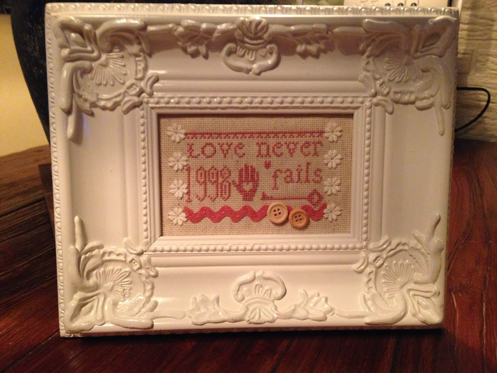 Love never fails...