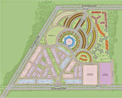 Up Country, Yamuna Expressway ::Layout Plan