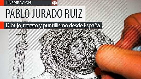 Dibujo, retrato y puntillismo de PABLO JURADO RUIZ
