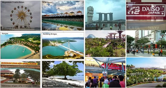 Tour Batam Singapore Murah
