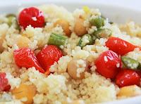 Salada Natalina de Couscous (vegana)