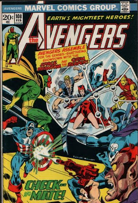 Avengers #108, Grim Reaper and the Space Phantom