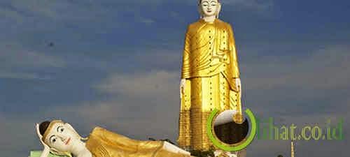 Patung Laykun Setkyar di Myanmar